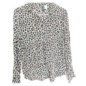 H&M Long Sleeve Button Down Blouse Women's